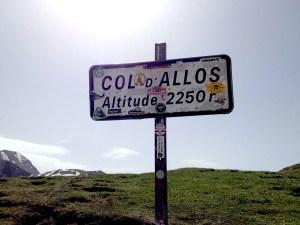 Col d'Allos, France