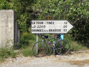 Heading over the mountain from Utelle to La Tour