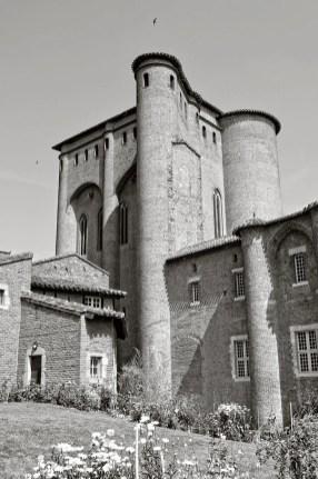 View of the Palais de la Berbie.