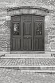 Doorway in Albi.