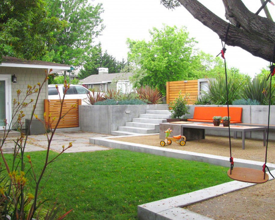 Gallery of Garden Ideas for Kids or Children - Interior ... on Modern Landscaping Ideas For Small Backyards  id=59612