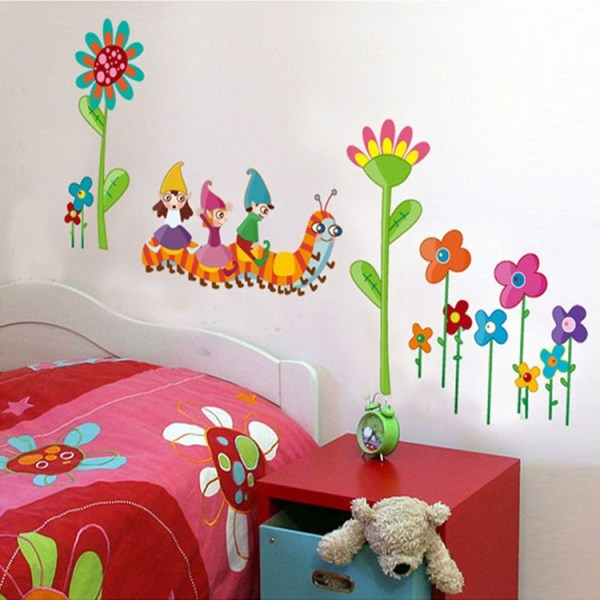 22 cool bedroom wall stickers for kids - Interior Design ...