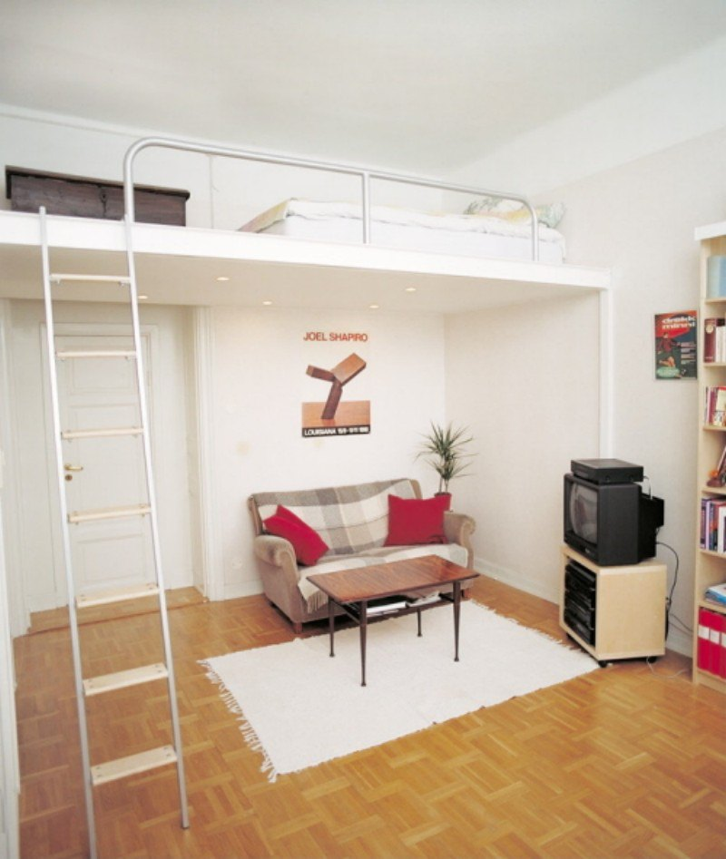 Kids Bedroom Furniture, Stylish Space Saving Ideas and ... on Bedroom Ideas For Small Spaces  id=87060