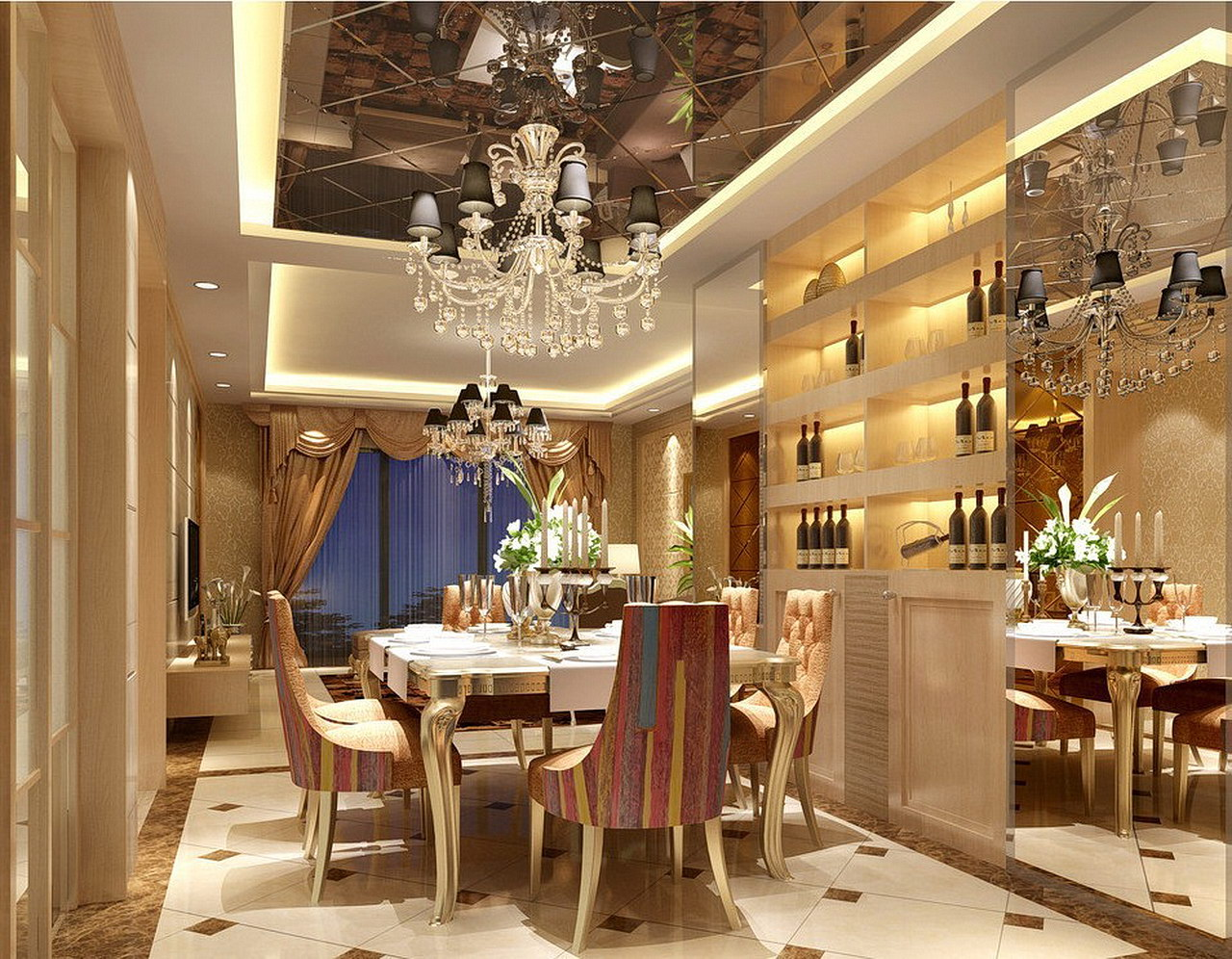 title | Dining room walls ideas