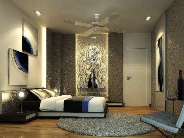 small modern bedroom decorating ideas - Interior Design ...