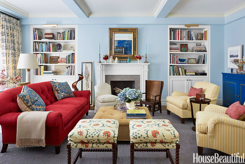 The Best Paint Color Ideas for Your Living Room - Interior ... on Colourful Living Room  id=30030