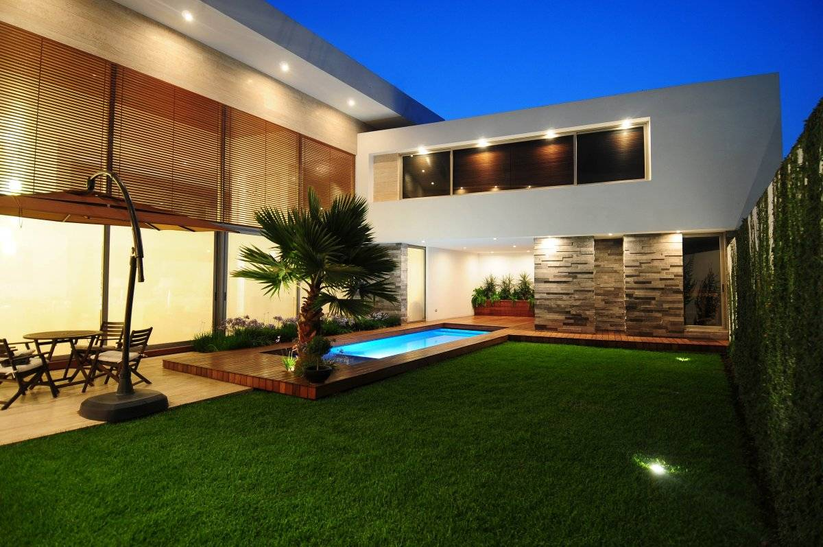 67 Beautiful Modern Home Design Ideas In One Photo Gallery ... on Backyard Yard Design  id=47348