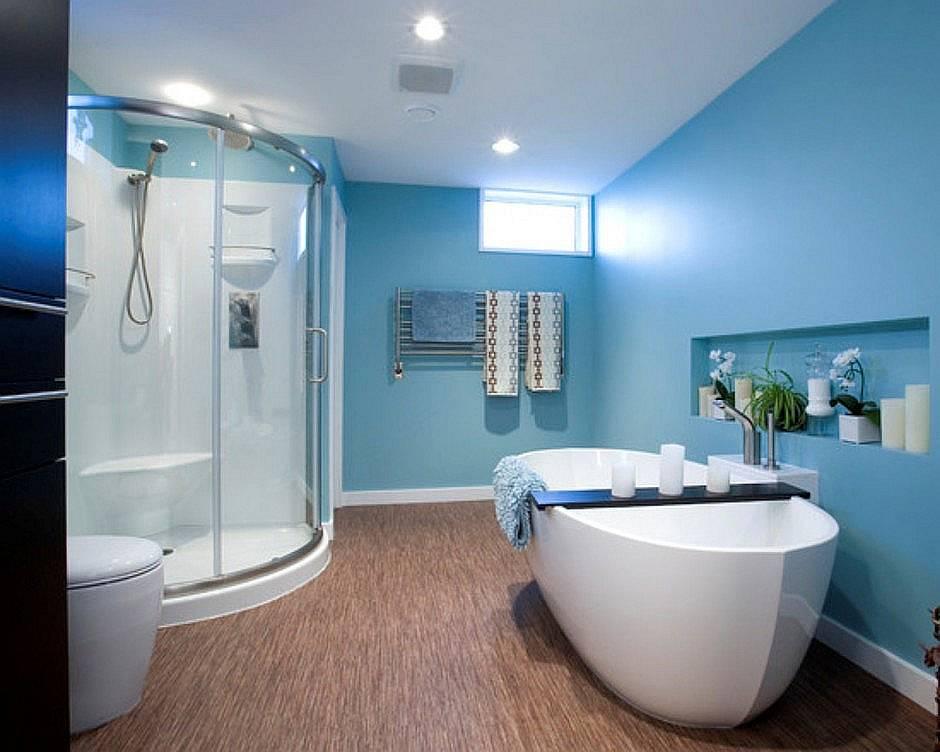 creating a designer bathroom on a limited budget on blue paint bathroom ideas exterior id=35924