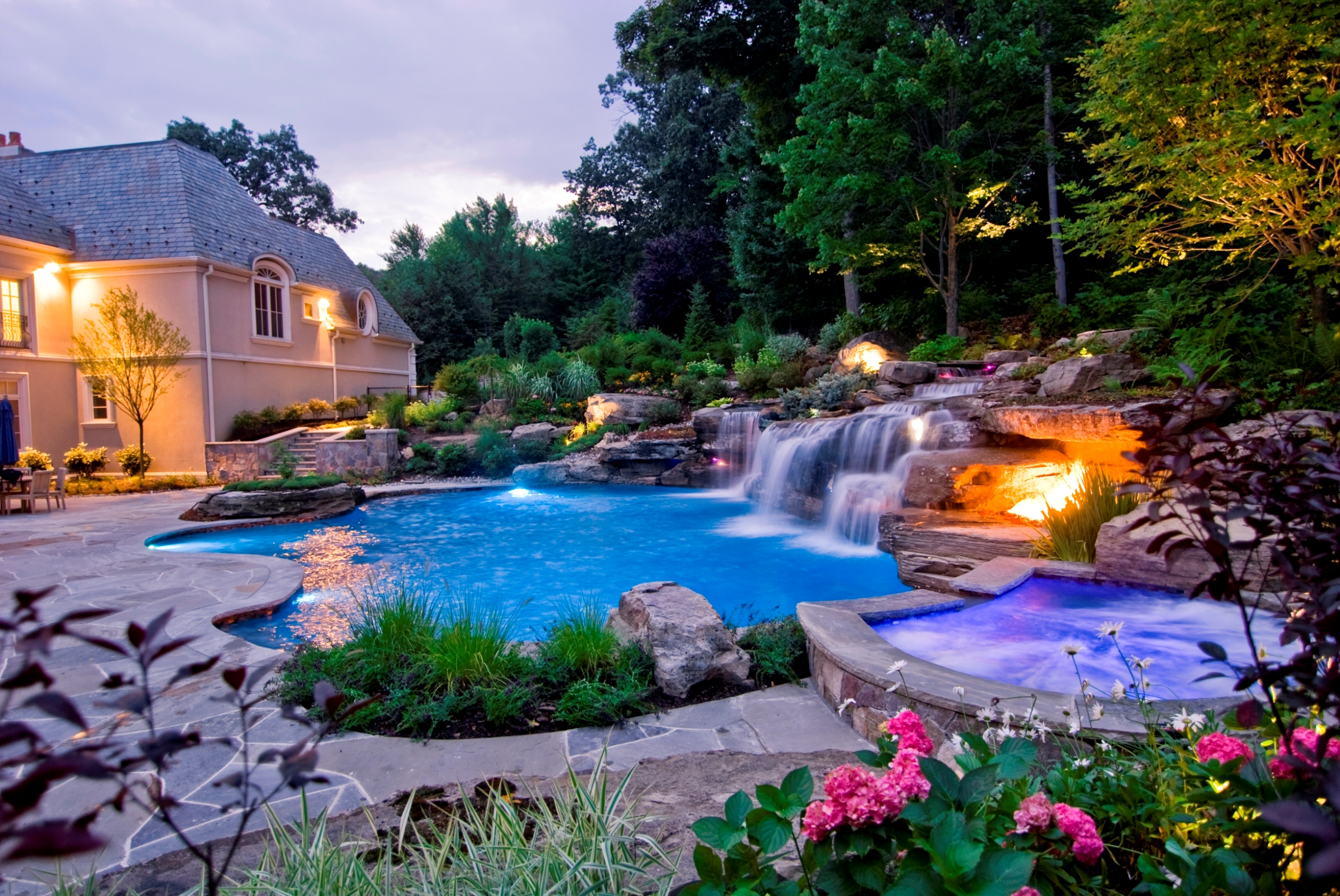 Cool Backyard Landscape Ideas That Make Your Home As A ... on Cool Backyard Decorations id=51586