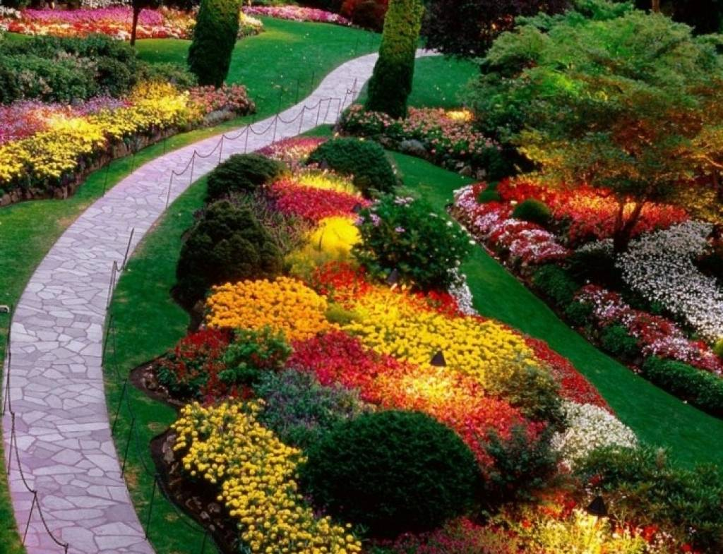 26 Perennial Garden Design Ideas Inspire You To Improve ... on Backyard Patio Layout id=42753