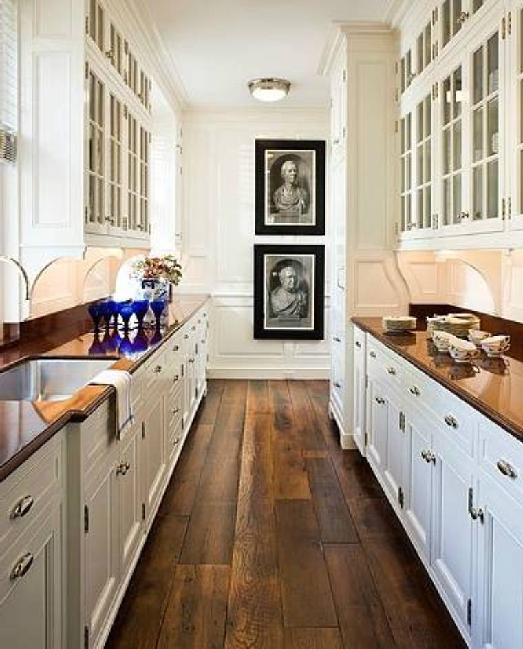 37 Examples Of Galley Kitchen Lighting That Looks Very Impressive Interior Design Inspirations