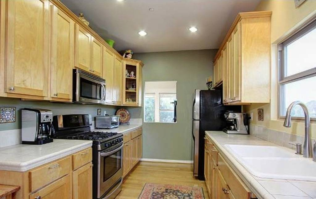 White Galley Kitchen Ideas
