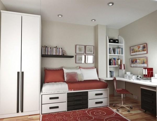 Small teenage bedroom decorating ideas - Interior Design ... on Small Teenage Bedroom Ideas  id=76446