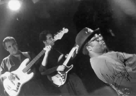 Bo Diddley,, Steve York, Dan Neale, Minneapolis, MN, 1989