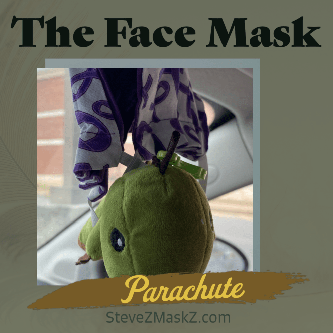 The Face Mask Parachute - It's me Van! I just got done souring to new heights wearing my Face Mask Super Hero Cape, but now that I'm high in the air, I need to land safely on the ground ...