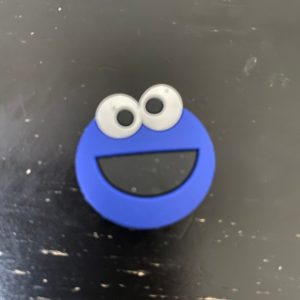 Cookie Monster Magnet - a magnet with Cookie Monster on it. #CookieMonster #Magnet