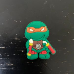 Michelangelo Magnet - A magnet with Michelangelo from the Teenage Mutant Ninja Turtles. #Magnet #Michelangelo