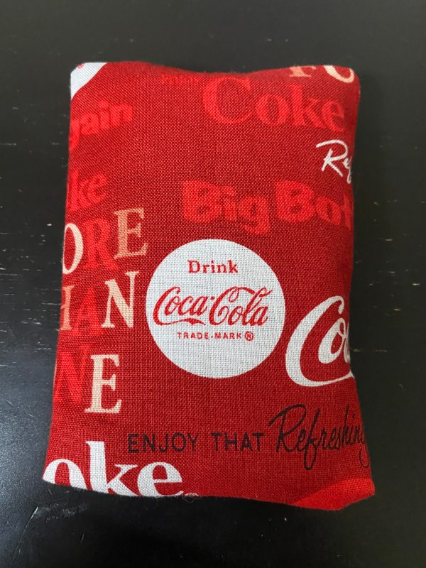 Coke Pocket Tissue Holder - A Coke-themed pocket tissue holder. #Coke