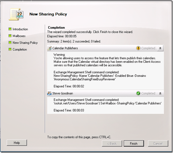 Managing iCal Calendar Sharing with Exchange 2010 | All About Office 365