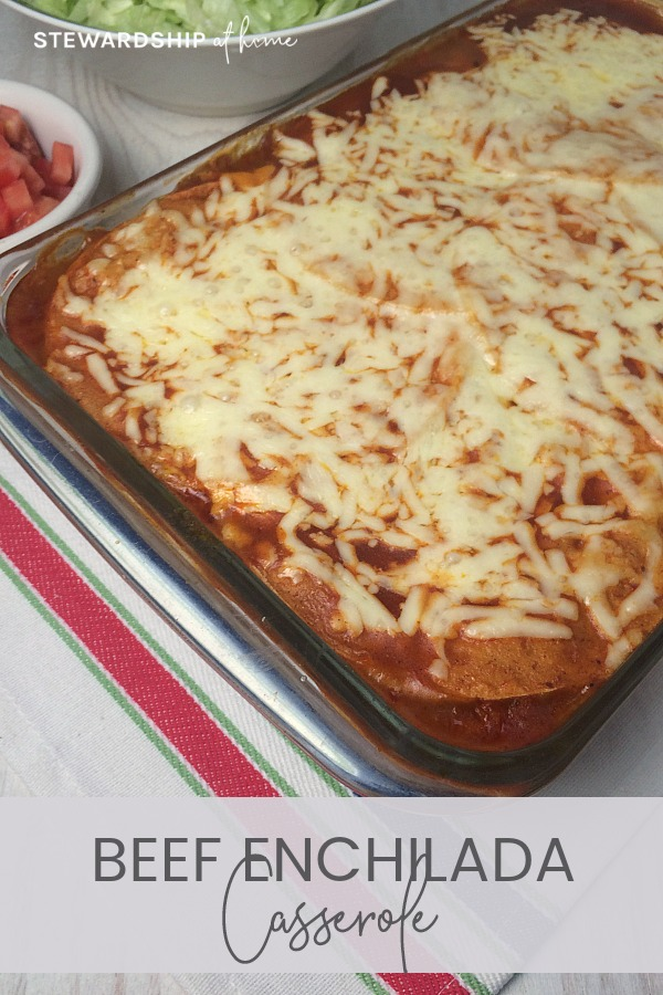 This Beef Enchilada Casserole is a take on a dish we used to eat for dinner when I was growing up. I've put my own spin on it and it's become a family favorite. With rave reviews from adults and kids, it's great to serve when company comes or to take to the church potluck.