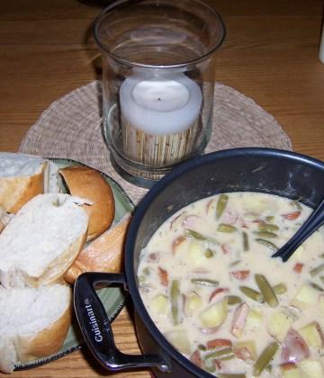 Sausage & Green Bean Stew