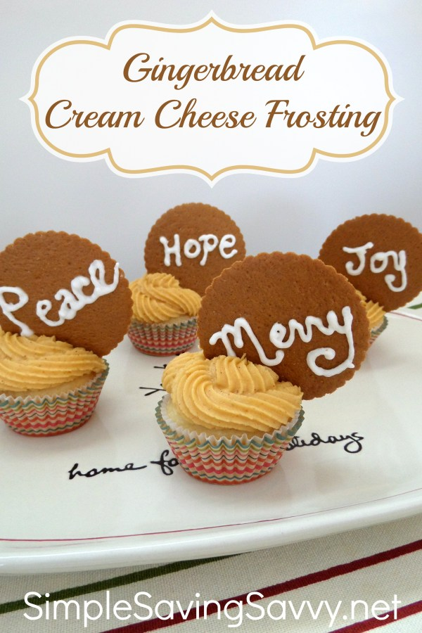 Gingerbread Cream Cheese Frosting