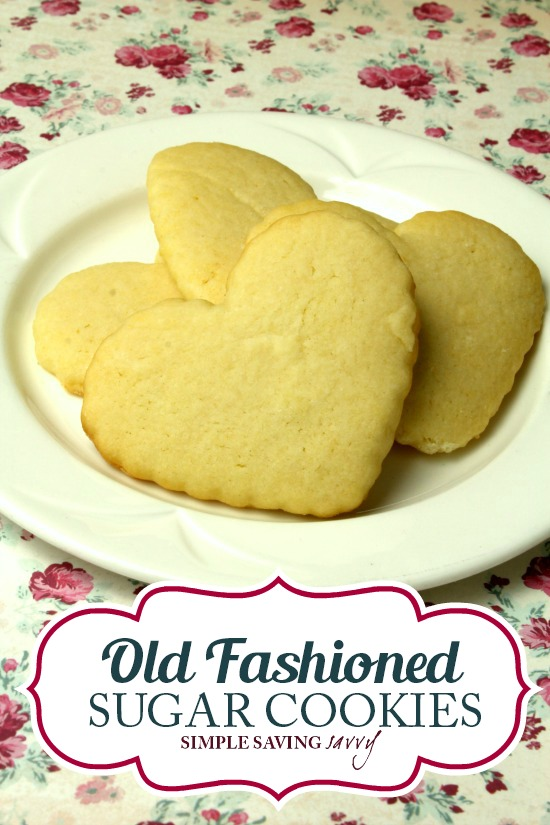 Old Fashioned Sugar Cookies Recipe