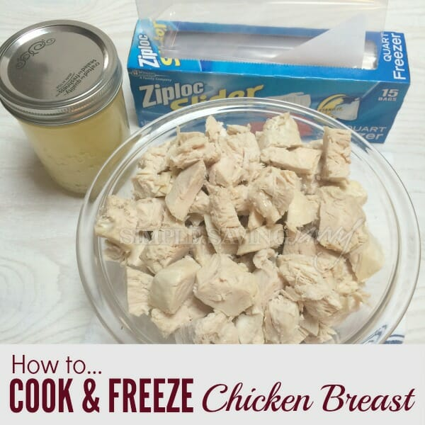 how to cook and freeze chicken breast 1