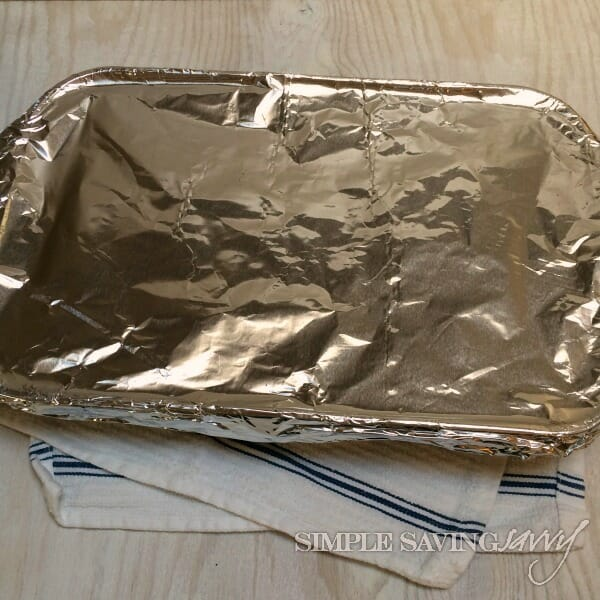 cover chicken breast with foil