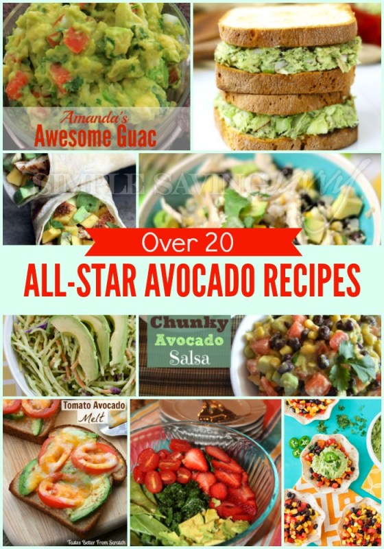 Over 20 All-Star Avocado Recipes