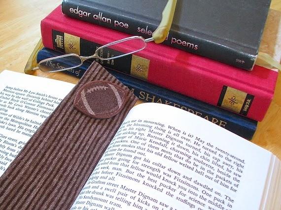 homemade no sew book mark