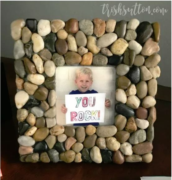 diy rock frame