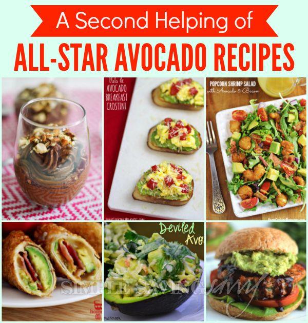 A Second Helping of All-Star Avocado Recipes