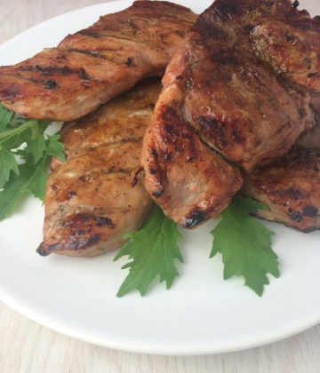 Grilled Honey Chipotle Pork Chops