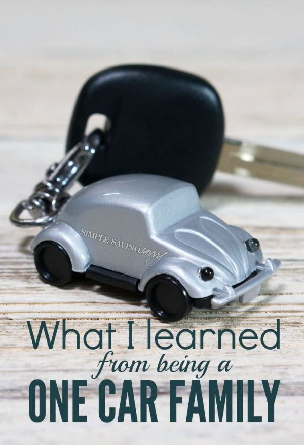 What I Learned From Being A One Car Family