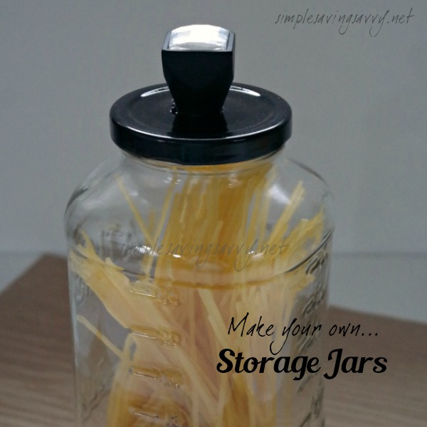Make Your Own Storage Jars