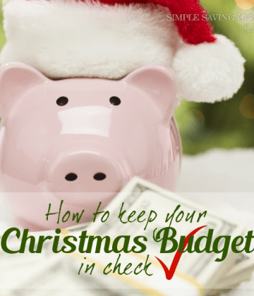 How to keep your Christmas Budget in check