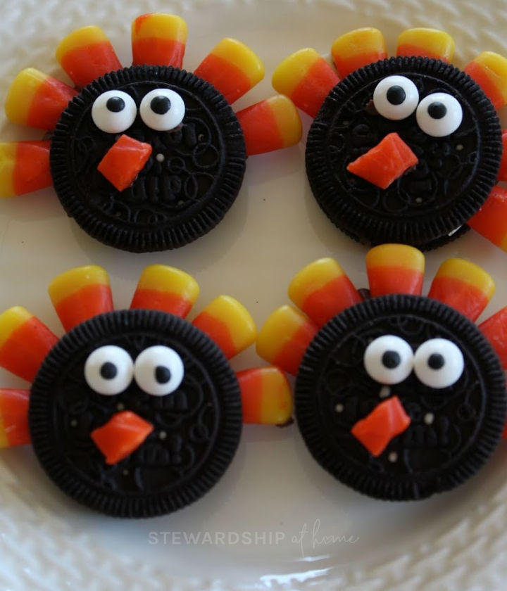 Oreo Turkey Cookies