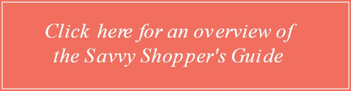 Savvy Shopper's Guide Overview