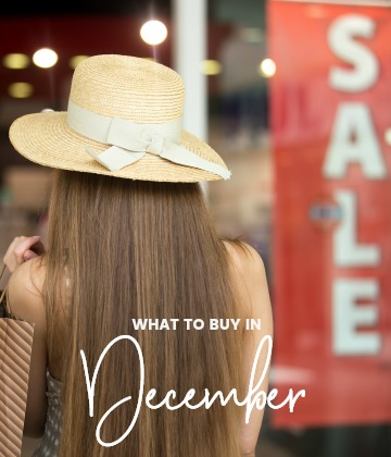 savvy shopper's guide - what to buy in december
