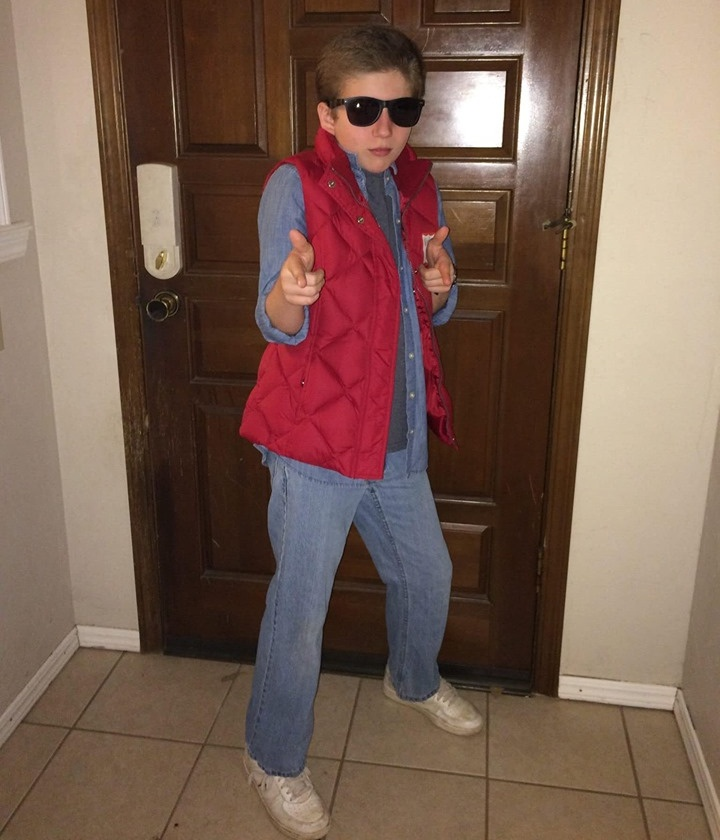 Back to the Future DIY Halloween Costume Ideas for Kids