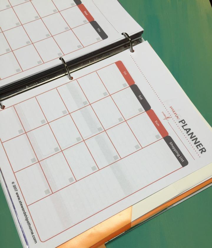 Diy Simple Household Planner Free Printable Planning