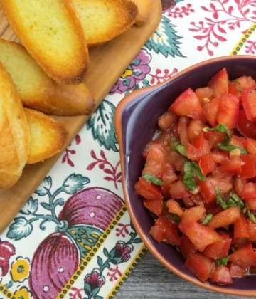 Classic Tomato Bruschetta