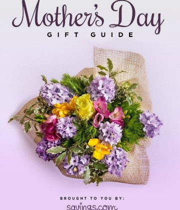 Savings.com Mother's Day Gift Guide