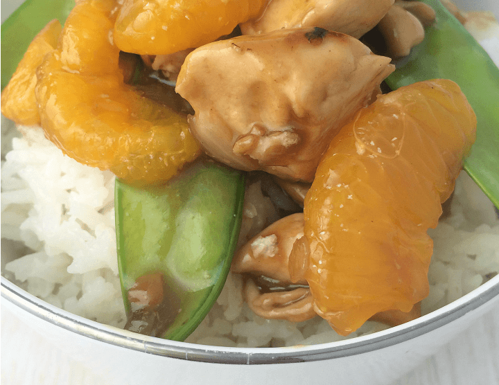 Mandarin Cashew Chicken