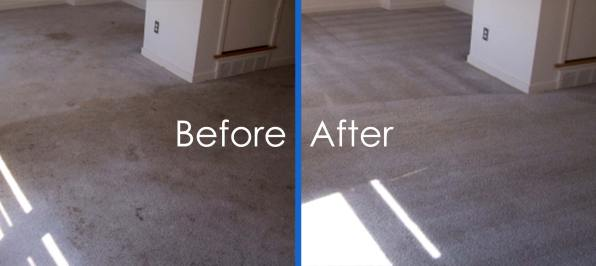 Carpet Cleaning Before-and-After