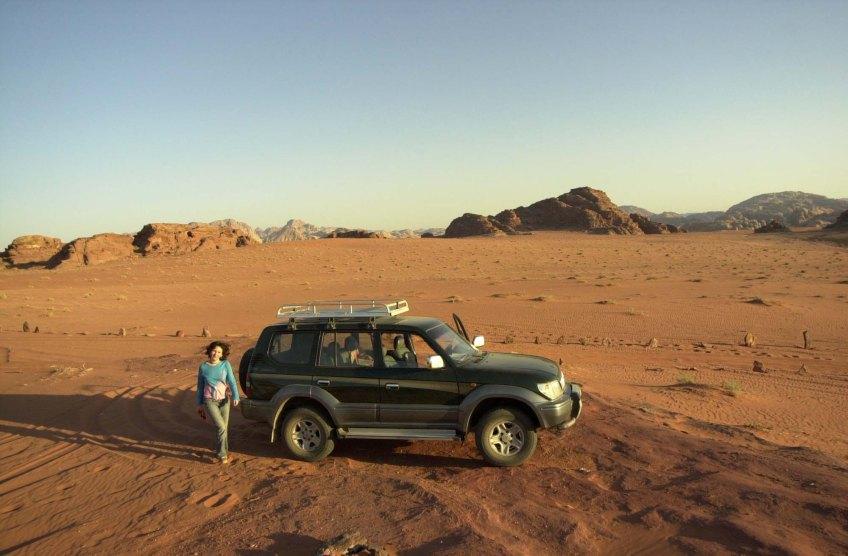 Stewart Innes Toyota Prado Fixer in Jordan