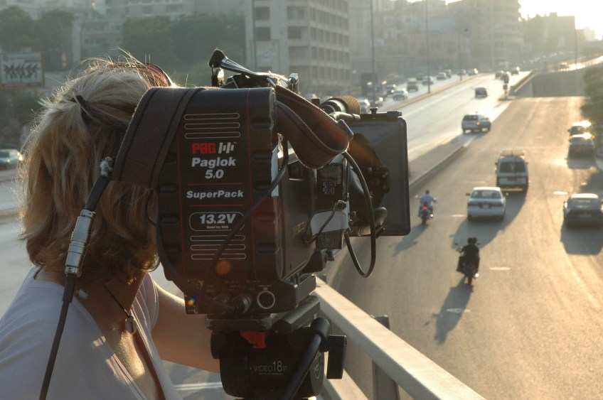Stewart Innes Lebanon filming Filming in Beirut