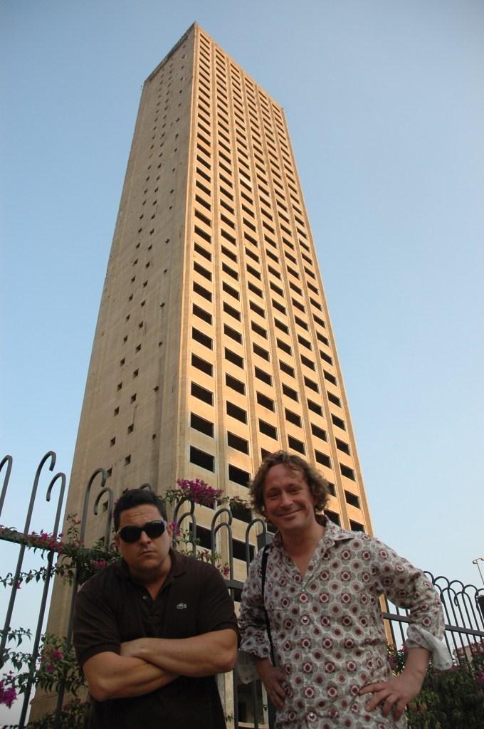Stewart Innes Beirut Lebanon Dom Joly filming Toyota Prado