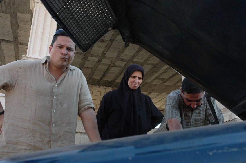 Stewart Innes Lebanon filming Dom Joly